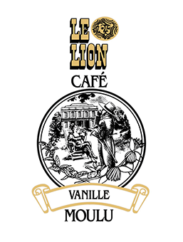 le lion Cafe vanille moulu